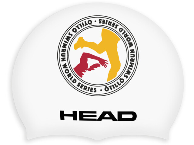Head ÖTILLÖ Silicon Moulded Swimcap White Logo
